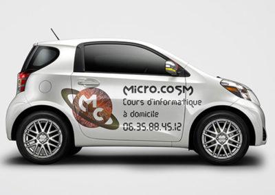 logo informatique et covering véhicule